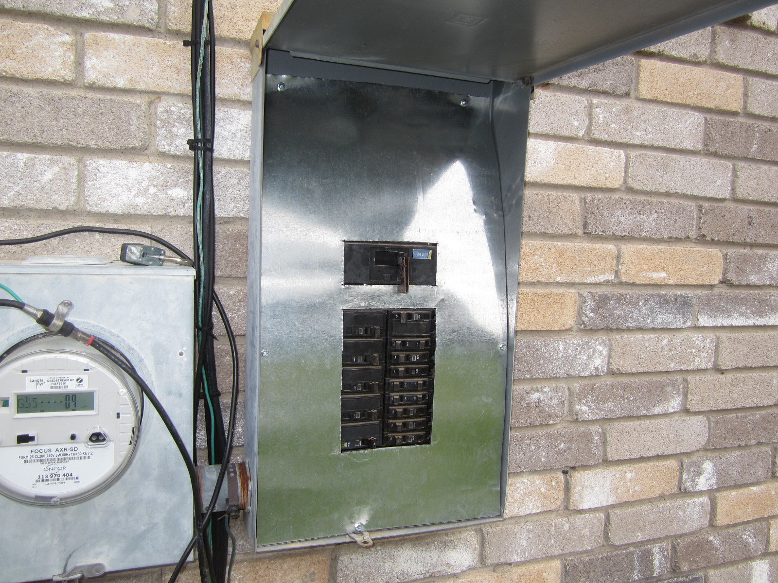 Dangerous Electrical Panel at Fort Worth Home Inspection ... on